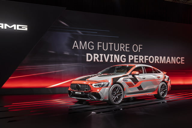 Mercedes-AMG's hybrid and electric drivetrains