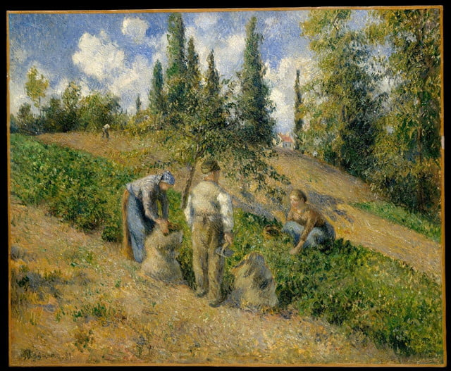 metropolitan museum art puts 400000 high res images free download met oasc pissarro