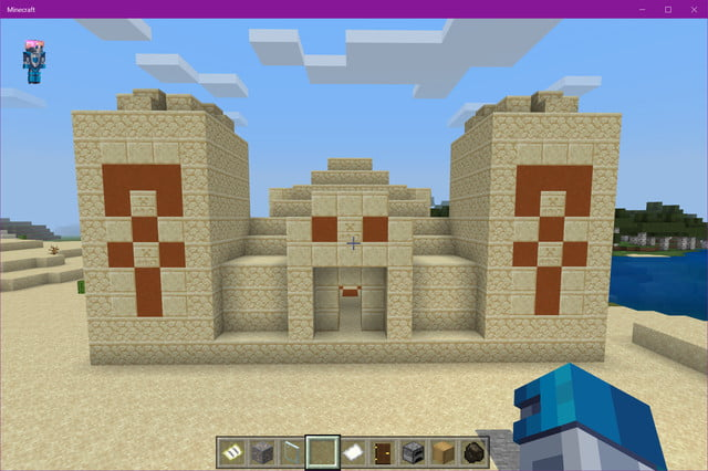 Minecraft Desert Temple