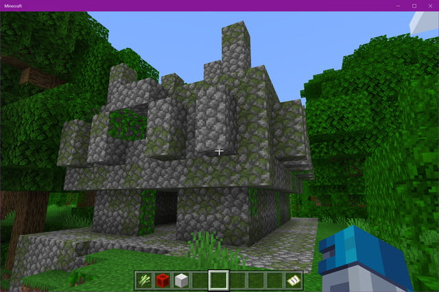 Minecraft Jungle Temple
