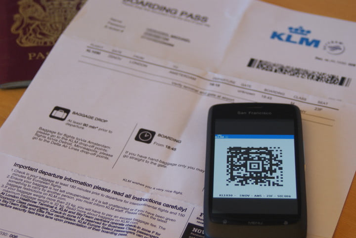 google enhances mobile search for travel retail boarding pass klm