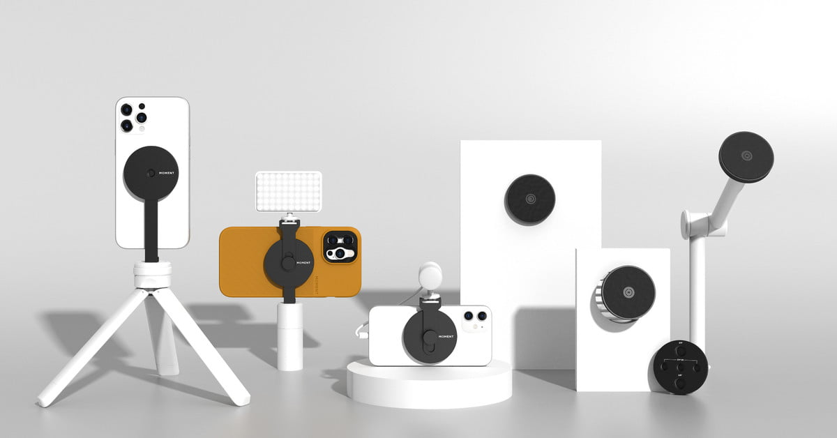 Meet Moment's iPhone 12 MagSafe cases and photography mounts