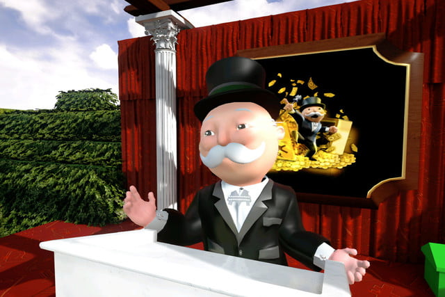 hasbro uses live animation of mr monopoly facebook  1