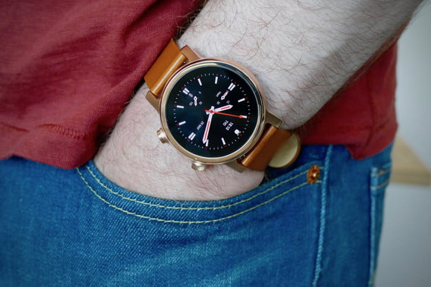 moto 360 2020 smartwatch review front