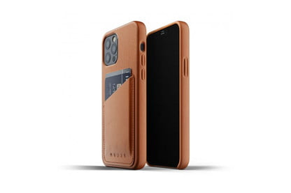 Personalized Leather iPhone 12 Pro 6.1 Wallet iPhone 12 Pro Best Phone Case Gift  TAN Detachable Protective iPhone 12 Pro Back Cover