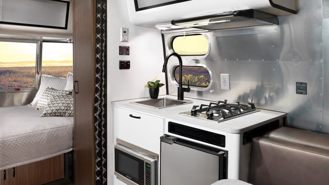 airstream 2020 bambi and caravel are more camping than glamping my20 gallery interior new1