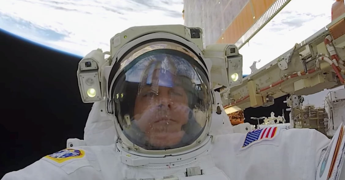 Watch this amazingly clear footage of recent NASA spacewalks