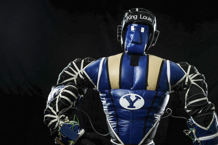 BYU's Robot King Louie being built by NASA