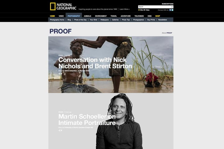 nat geo magazine dedicates 125th anniversary to the photography thats shaped its history proof