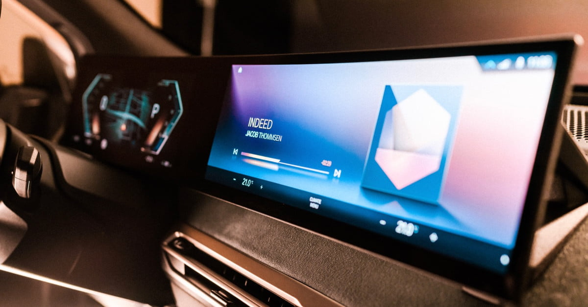 BMW shows off the future of iDrive tech at CES 2021