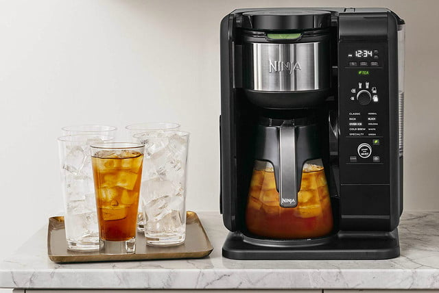 amazon ninja coffee maker deals hot and cold brewed system auto iq tea 02