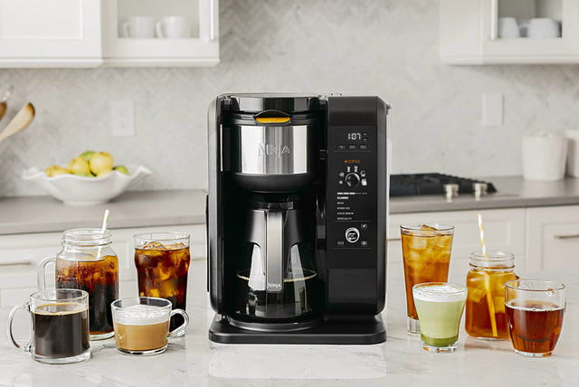 amazon ninja coffee maker deals hot and cold brewed system auto iq tea 04