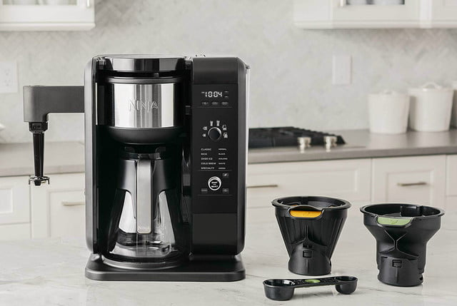 amazon ninja coffee maker deals hot and cold brewed system auto iq tea 05