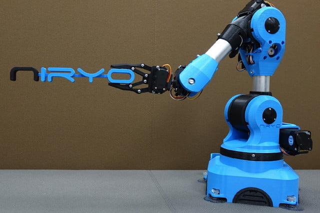 niryo one industrial arm robot kickstarter 1
