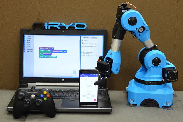 niryo one industrial arm robot kickstarter 2