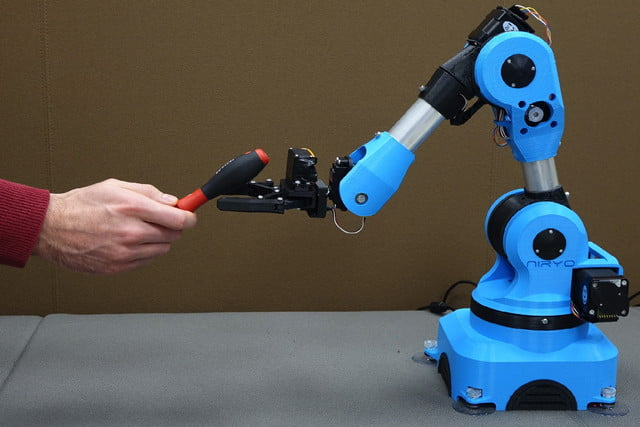 niryo one industrial arm robot kickstarter 3