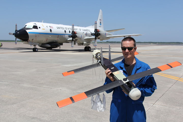 noaas eye inspecting hurricane hunter drone set improve intensity forecasts noaa coyote