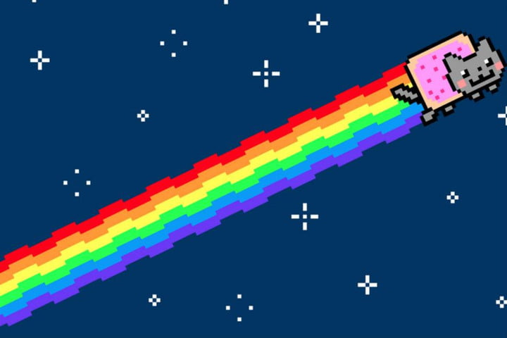 what makes a viral image nyan cat