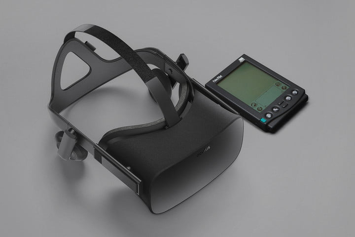 future of vr is unprecitable palm pilot oculus rift v2