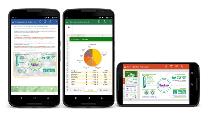 microsoft office android preview news for phone now available 1