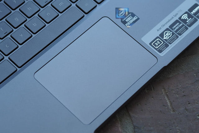 Acer Chromebook Spin 713 trackpad
