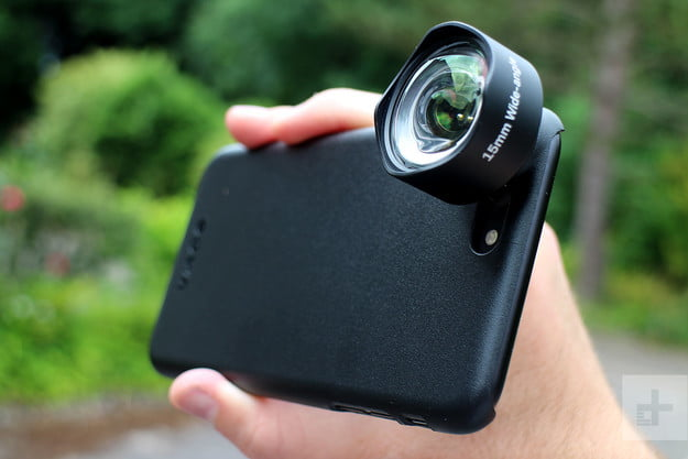 Oowa Pro Lens Kit lens attached
