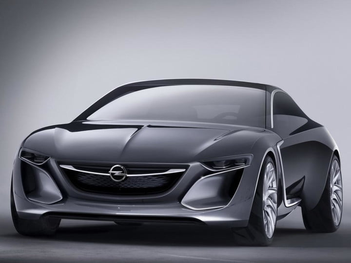 Opel Monza concept front three quarter