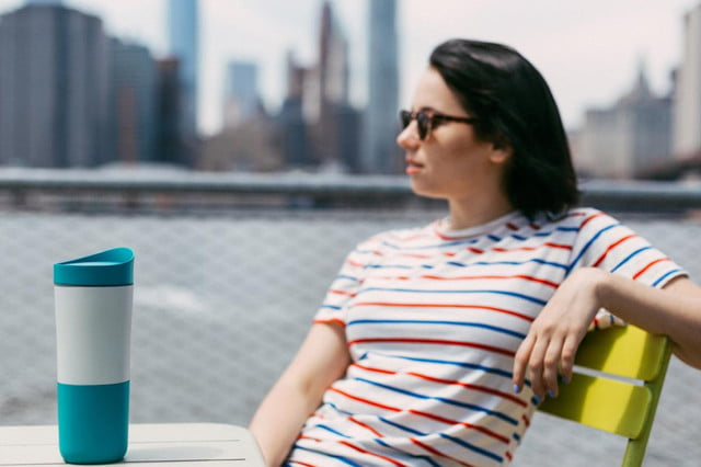 let smart cup ozmo help you stay hydrated and appropriately caffeinated lady