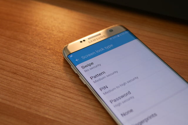how to reset a galaxy s7 edge settings lock screen3