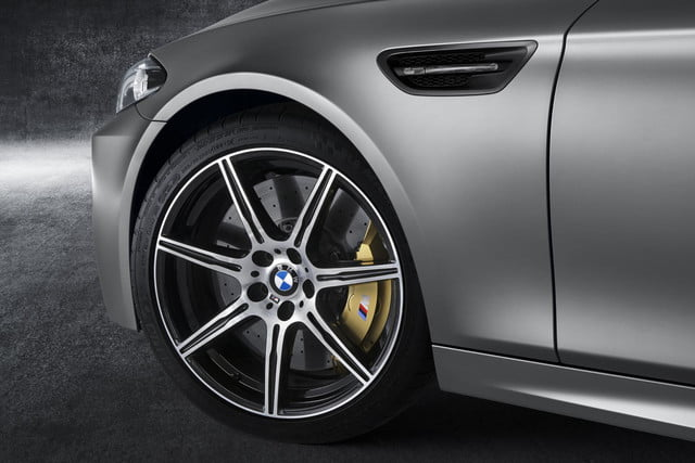 bmw m5 30th anniversary edition photos details and specs