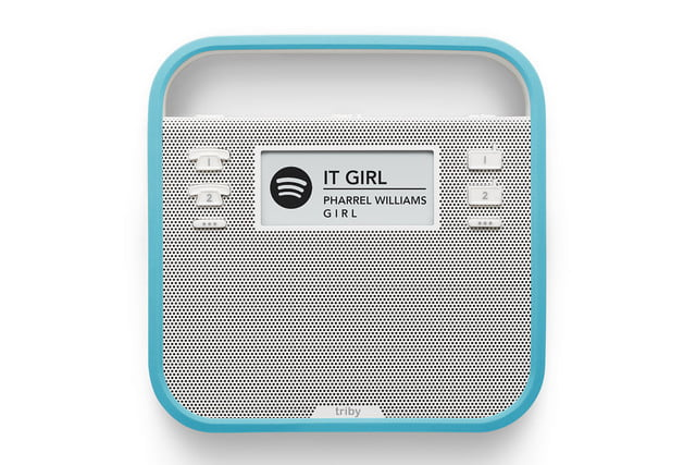 triby is the first non amazon alexa device pack face blue spotify hd