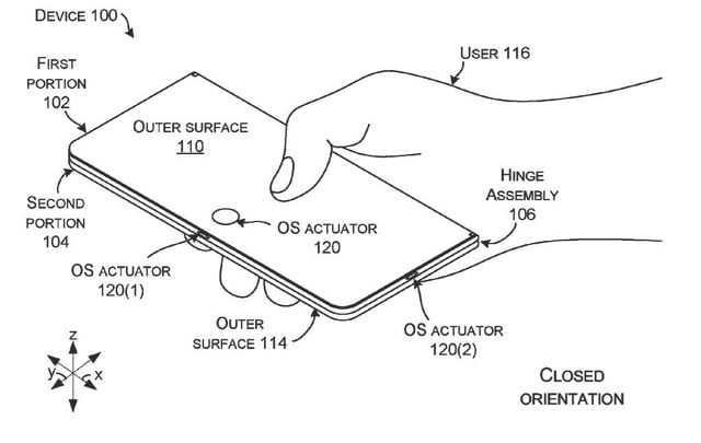 microsoft patent hints at surface foldable multi function button 1