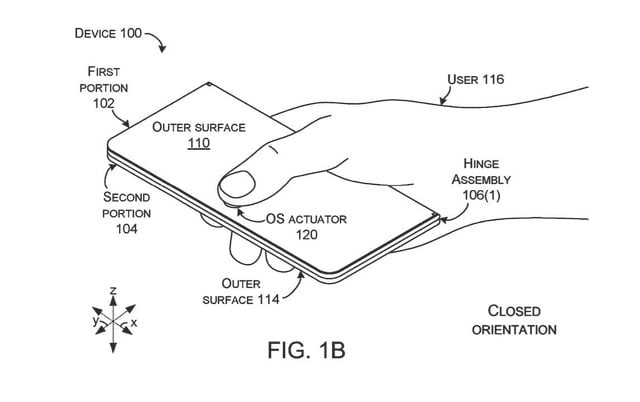 microsoft patent hints at surface foldable multi function button 2