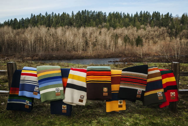 best gadgets and gear for winter camping pendleton national park collection roll up blankets