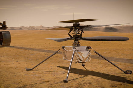 NASA names target date for first Mars helicopter flight