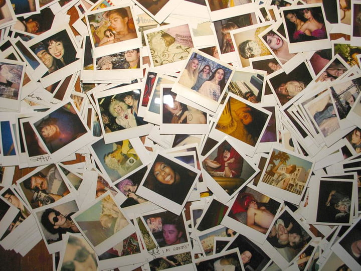 according to facebook there are 350 million photos uploaded on the social network daily and thats just crazy pile of polaroid