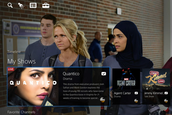 playstation vue adds multi view on ps4 timeline