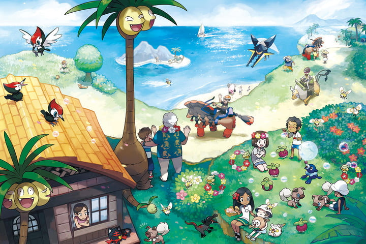 pokemon sun moon competitive battle guide and