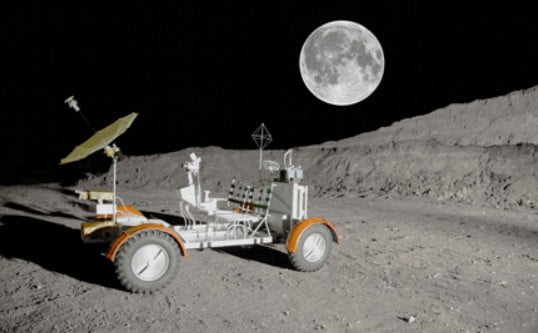 polaris builds lunar rover vehicle replica with indian slingshot and rzr parts lrv