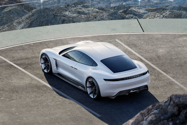 tesla top model s competitors porsche mission e 3
