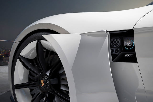 tesla top model s competitors porsche mission e 4
