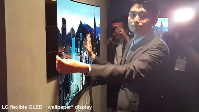 lg display envisions a future of flexible wafer thin oled displays s and transparent concepts