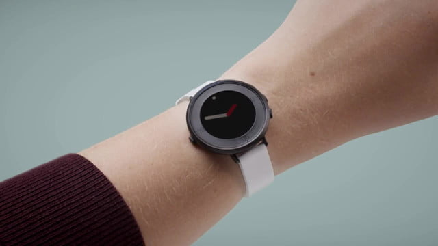 pebble time round smartwatch unveiled  s ultra thin light on sale nov 8