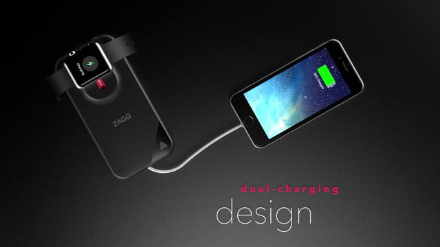 zagg mobile charging station one news s battery pack charges your iphone and apple watch