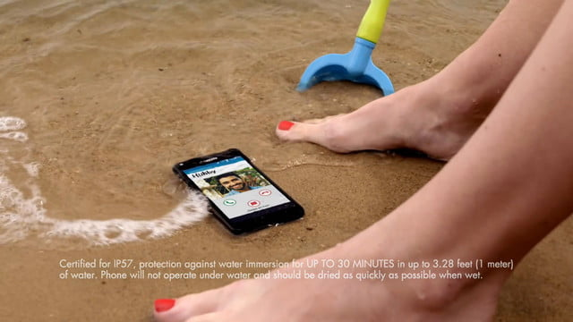 kyocera hydro shore announces the waterproof