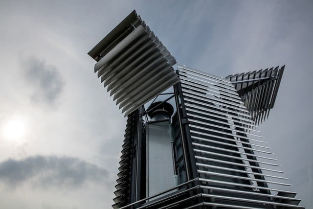 smog free tower beijing sucking  carbon crushing air purifier opens in