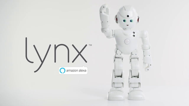 ubtech lynx ces 2017 gives amazon s alexa appendages and personality at