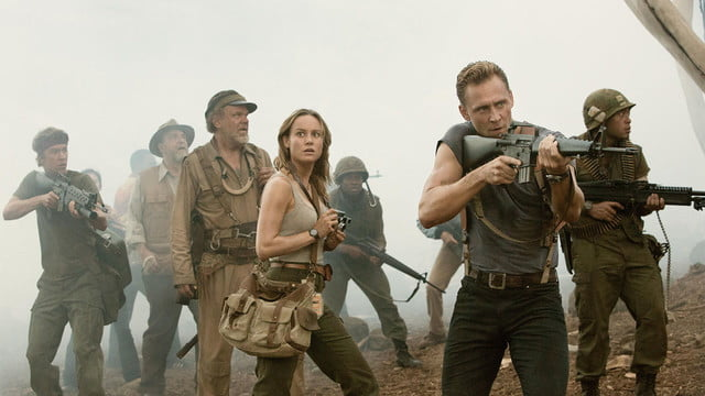 kong skull island review movie  is a roaring success