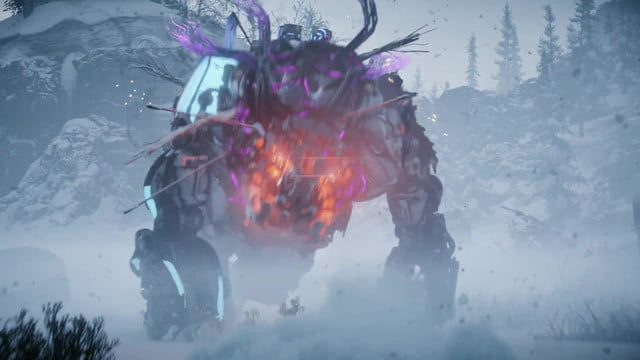 horizon zero dawn the frozen wilds review  is more of same and that s just great