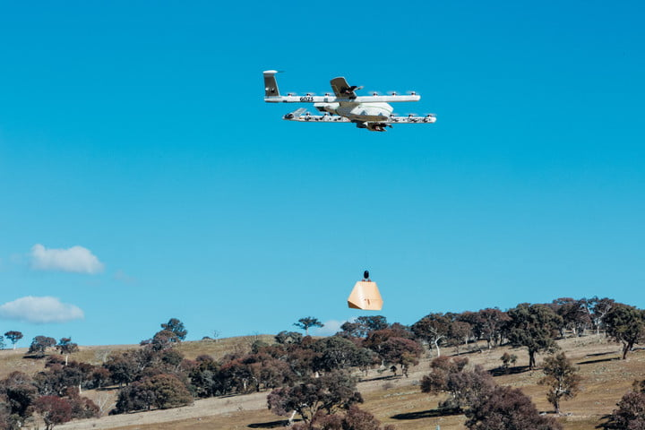 drones delivering burritos to australians project wing  australia